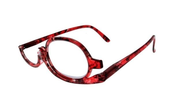 Make-up bril TA Hip 0999 rood/bloemen