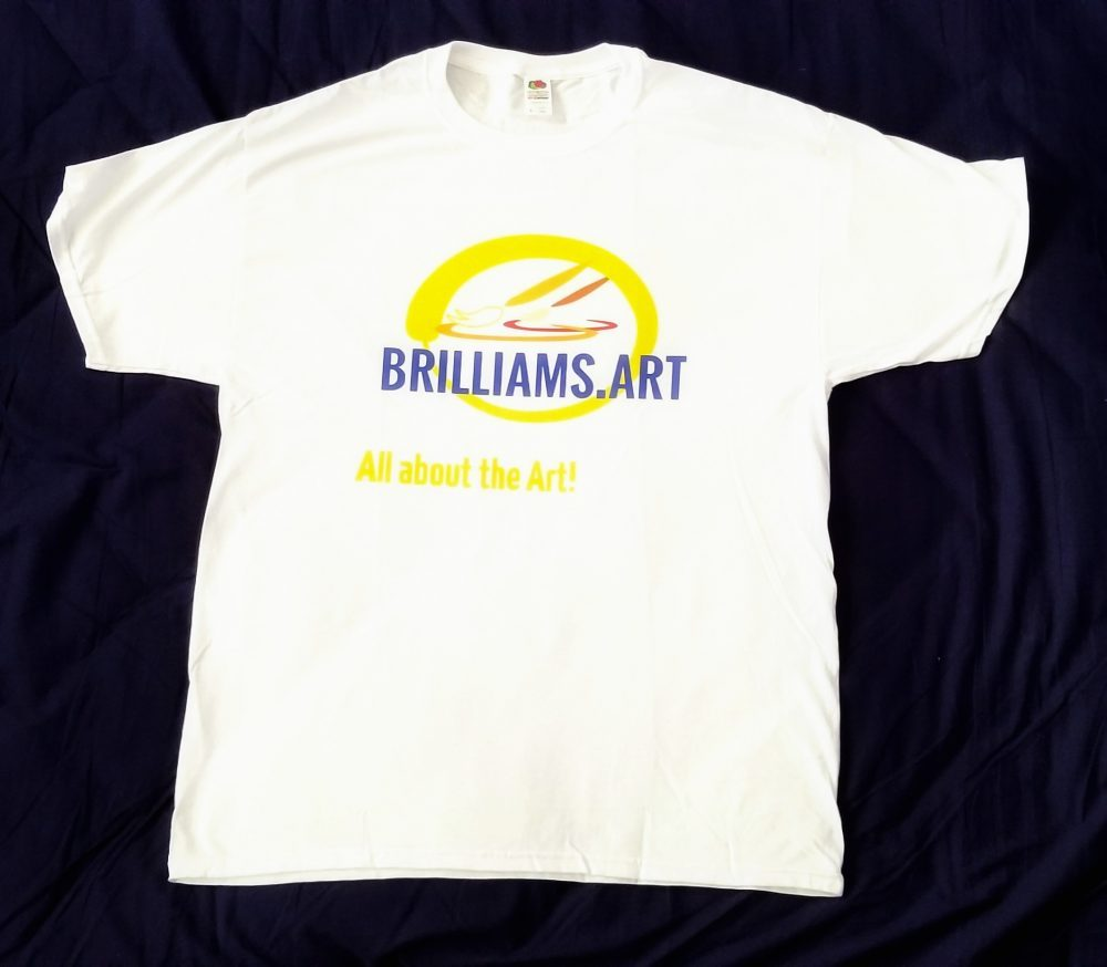 Men's Brilliams.art Logo T-shirt