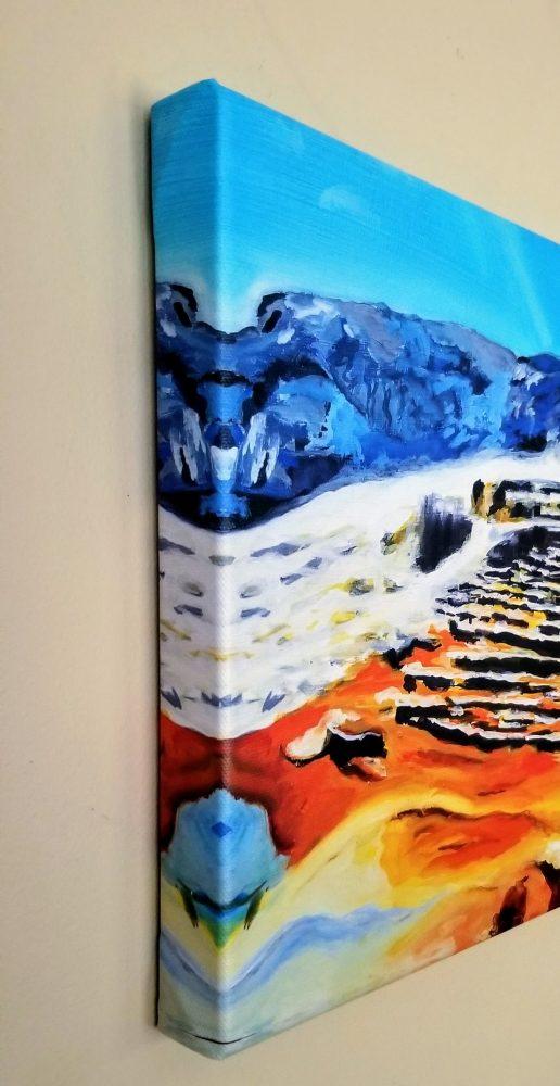 Minerva Terrace mammoth Canvas Print