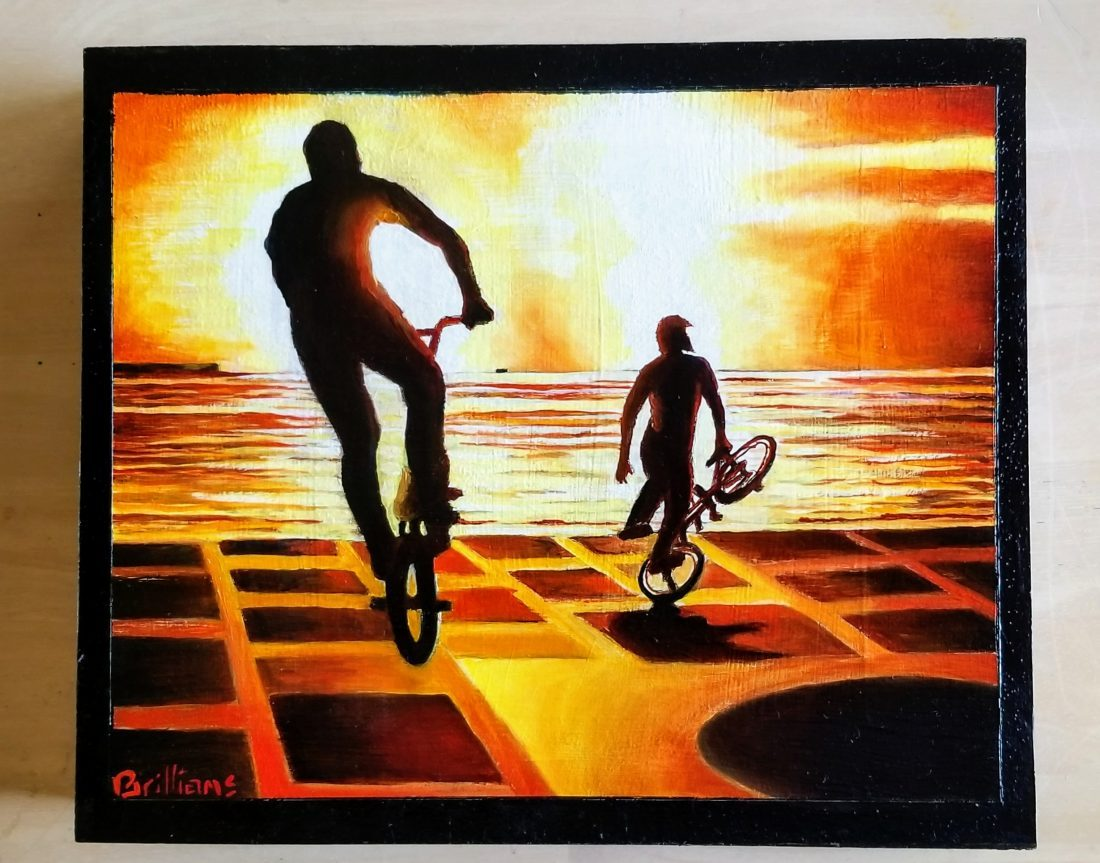 """""""Spinners"""" Painting"""
