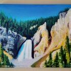 Lower Falls Canyon Canvas Print