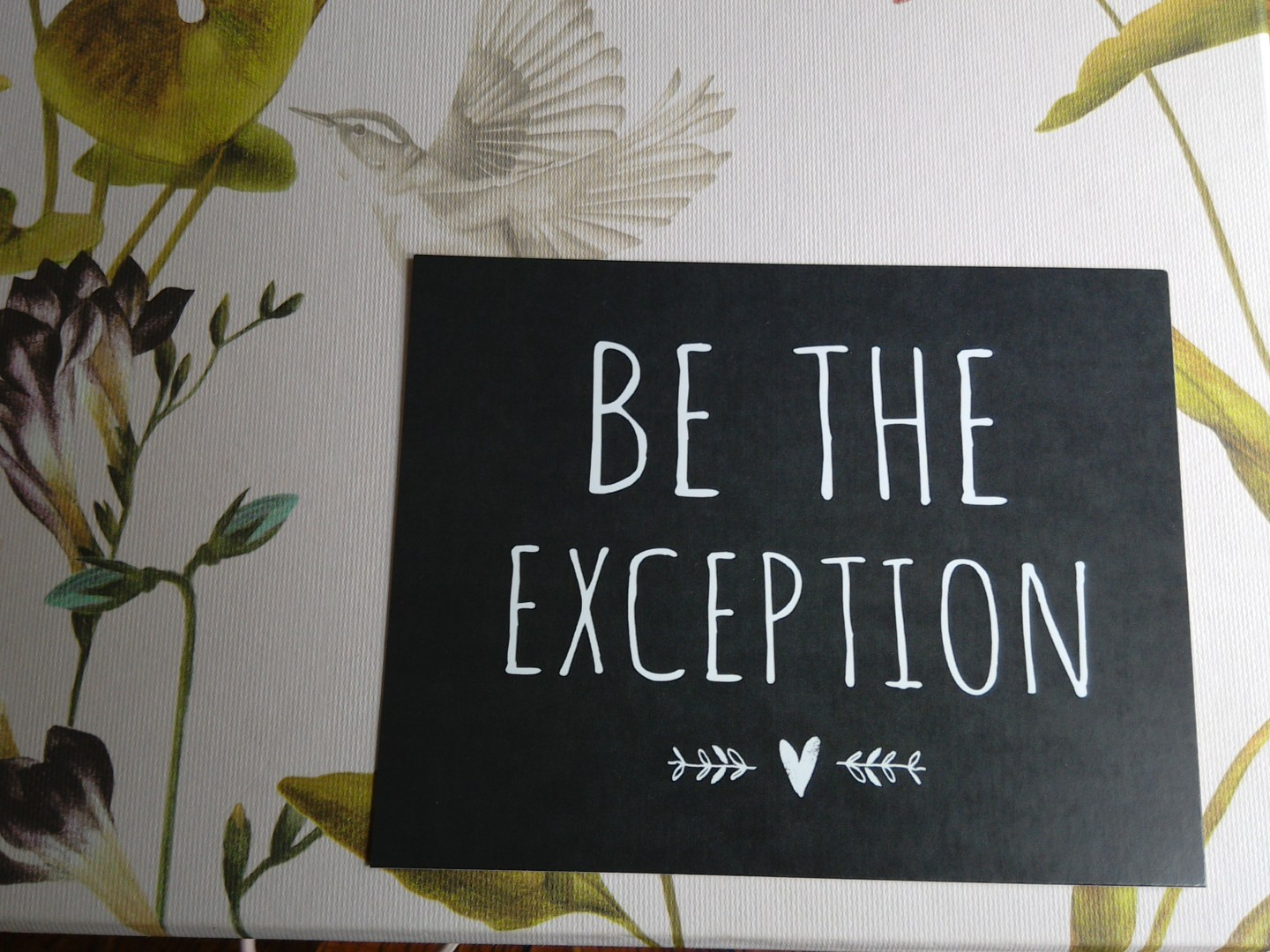 Will You Be The Exception?