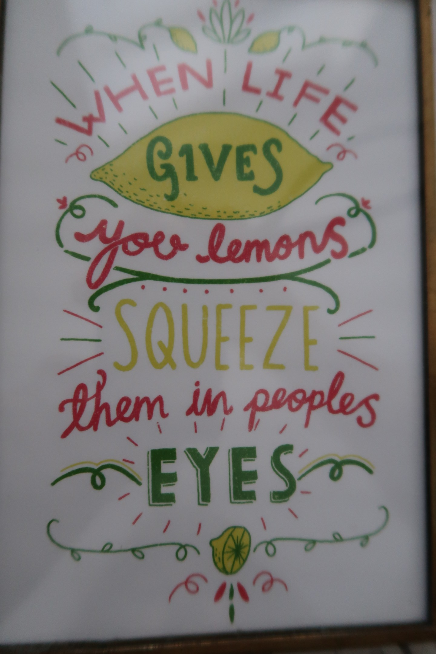 When Life Gives You Lemons – What Should You Do?