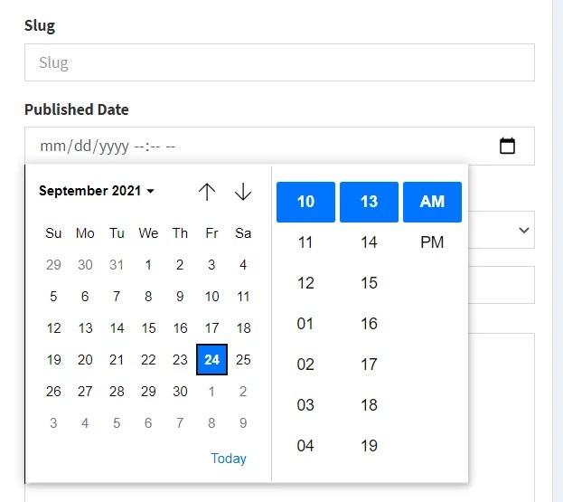 bootstrap datetimepicker