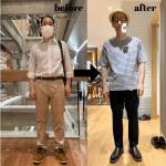 【メンズbefore→after】メンズ顔タイプ診断・メンズ骨格診断ファッションコンサルスタートしました