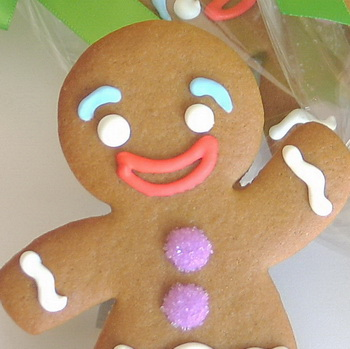 Gluten-Free Gingerbread Cookies (2/2)