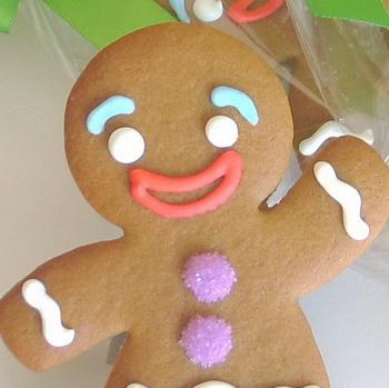Gluten-Free Gingerbread Cookies (2/2)