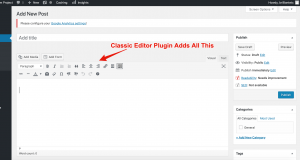 Classic Editor Plugin WordPress - Brilliant Etc