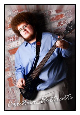 Guitar Senior Portrait