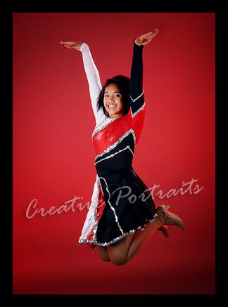 8th grade cheerleader