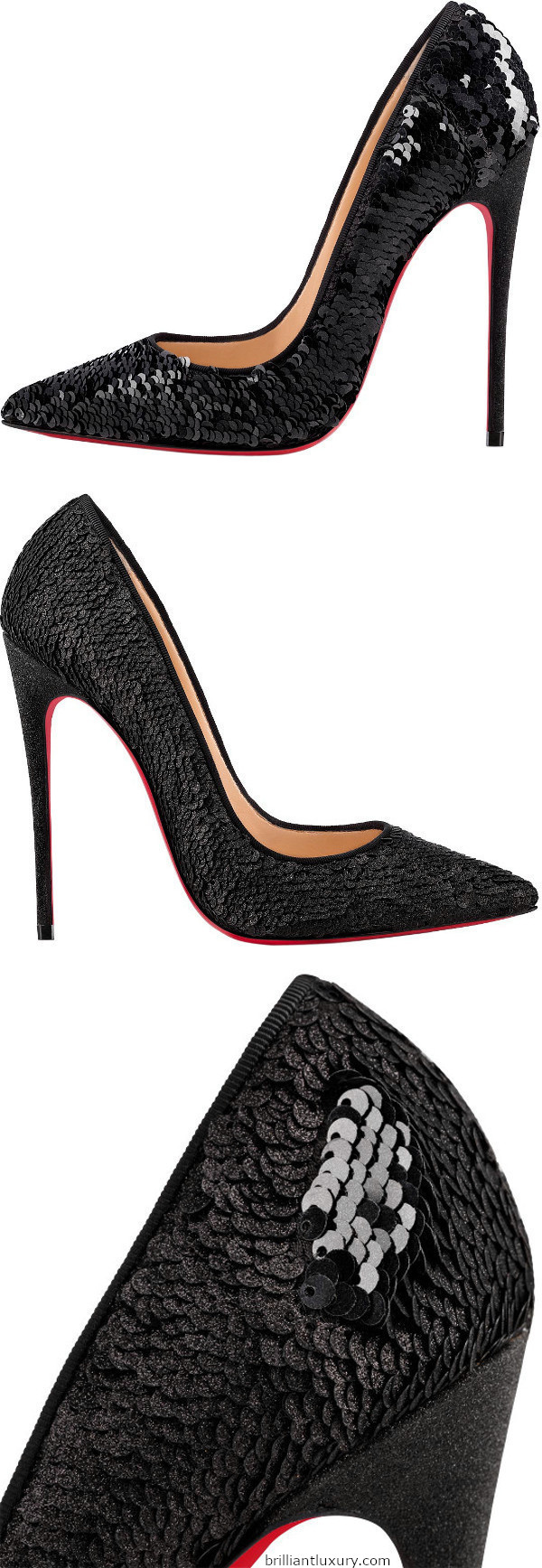 So Kate sequin stiletto high heels