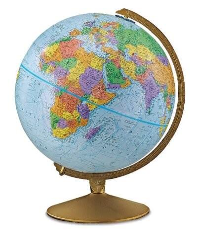 11 Best World Globes For Kids   Children     Brilliant Maps Replogle Explorer Raised Relief Globe