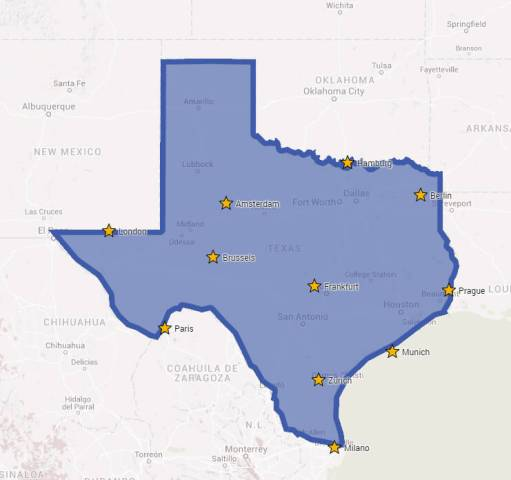Major European Cities On A Map Of Texas     Brilliant Maps Major European Cities On A Map Of Texas