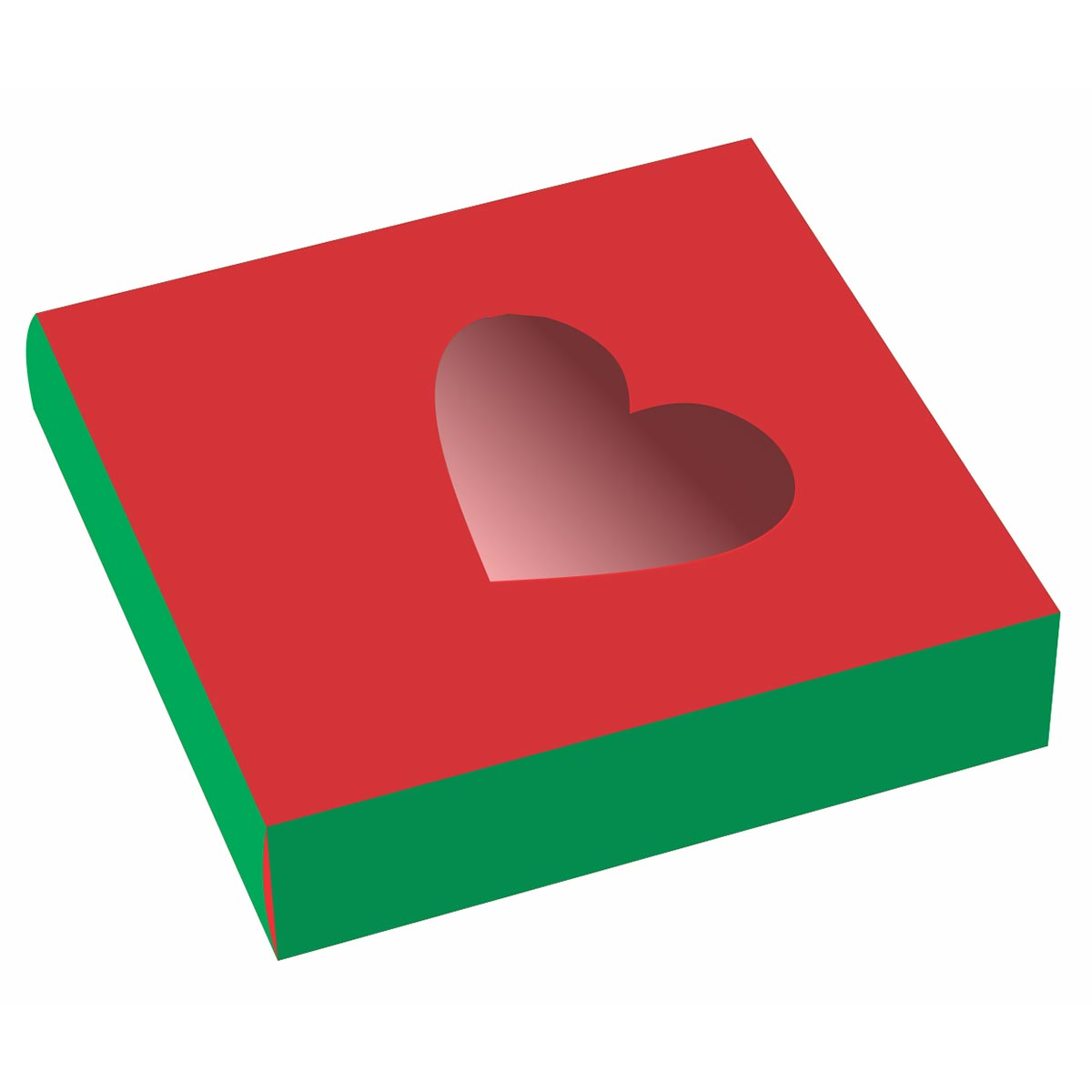 heart shaped tin box