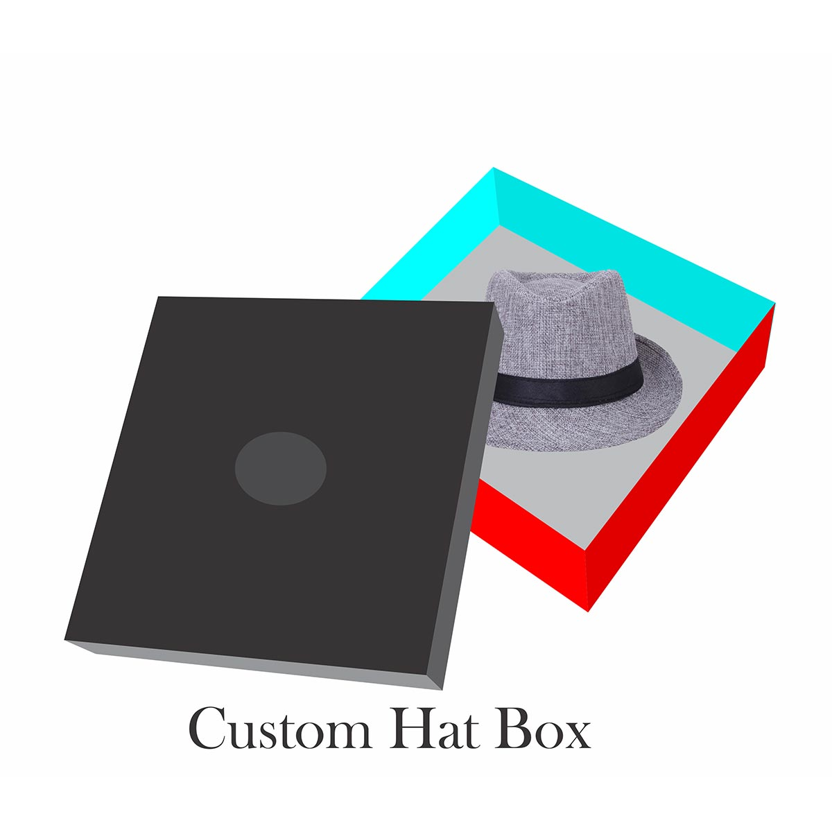 cowboy hat ring box