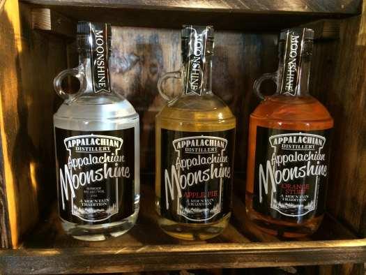 Flavored moonshine