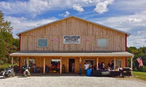 Appalachian Distillery moonshine
