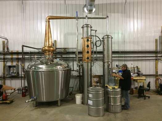 Still and distillation column