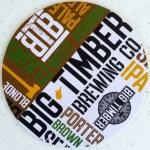 Big timber brewing beer coaster