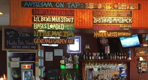 nine Antietam beers