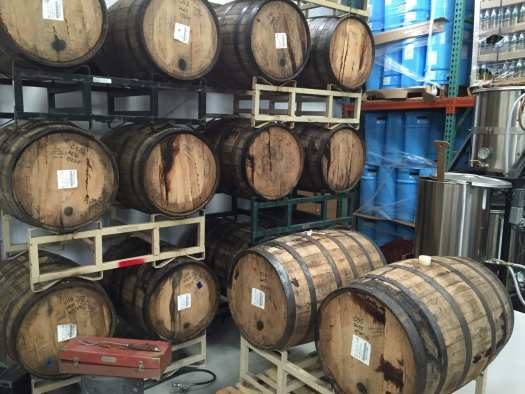 Barrel program at Bridge Brew 2016