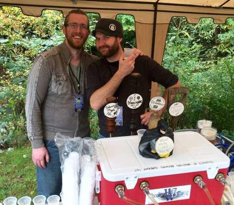 Wheeling Brewing Company head brewer, Josh Clark