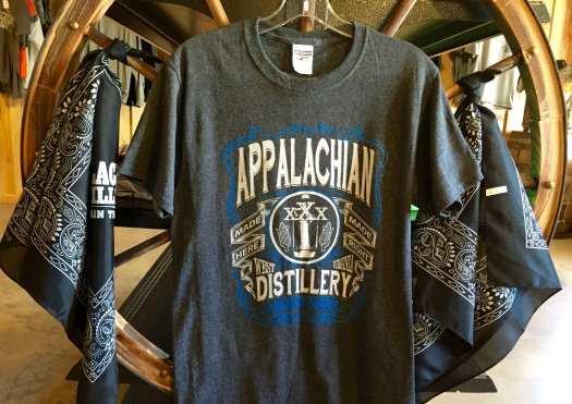 Appalachian Distillery t-shirt