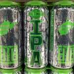 Big Timber Brewing tall boy cans.