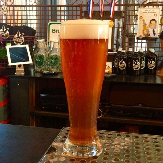 Swamp Rabbit Brewery Raspberry White Ale