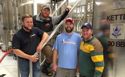 Brewery 85 team
