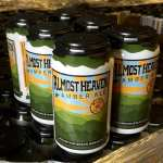New cans of Almost Heaven Amber Ale by Mountainstate brewing company