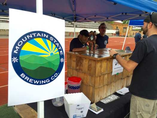 Mountain State Brewing at Foam at the Dome.