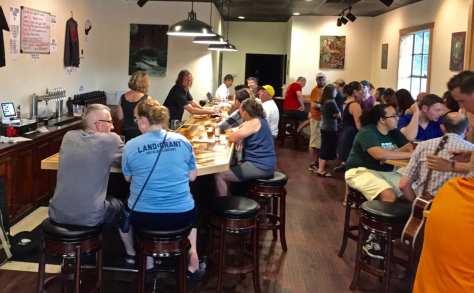 Devil's Kettle taproom - Ohio Brew Week