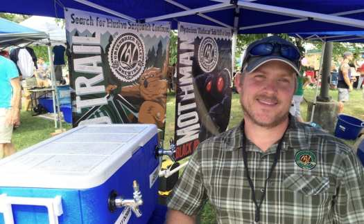 Dave Kucera of Greenbrier Valley Brewing Company