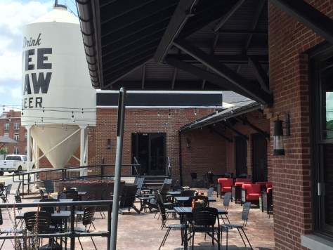Yee Haw Brewing outdoor seating