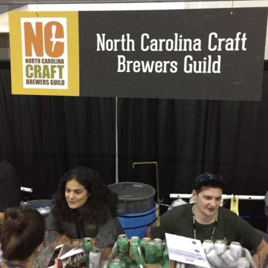 NC Craft Brewers Guild at GABF 2016