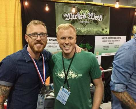 Wicked Weed Brewing at GABF 2106