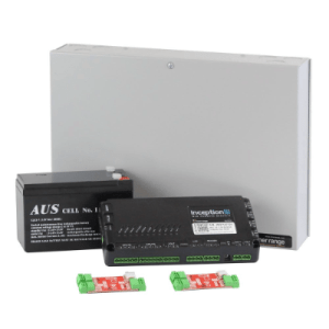 Inception Controller Kit 4, Sm Enclosure, Battery & 2x OSDP Converters, Wiegand Ready
