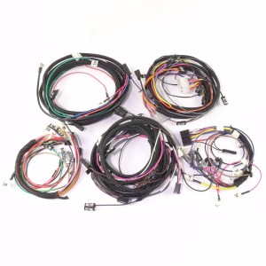 IHCFarmall 756 Diesel Complete Wire Harness (10SI Alternator & Deluxe Fender Lighting)  The
