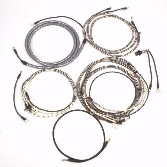 farmall m mv  super m complete wire harness