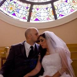 Lopez Moryl Wedding - balcony forehead