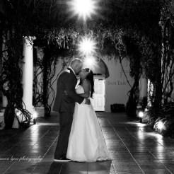 Lopez Moryl Wedding - nightshot bw