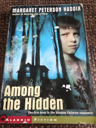 My well-worn copy of Among the Hidden