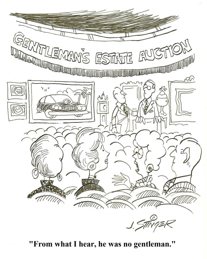 Cartoon courtesy of John Stinger of Stingerfineart.com