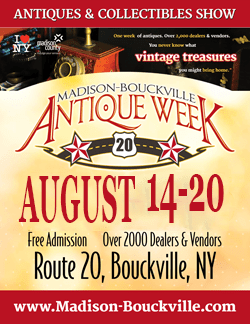 Madison-Bouckville Antique Week - August 2017