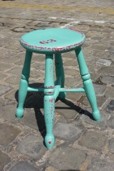 Brimstones and Treacle Carnival Stool