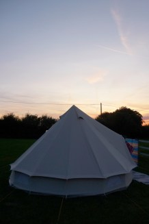 Our Soulpad at Dusk. Forestside Farm, Marchington