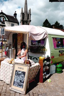 Caravan Cafe at Ashbourne Vintage Street