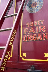 steam organ signwriting
