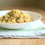 Yellow Rice & Peas